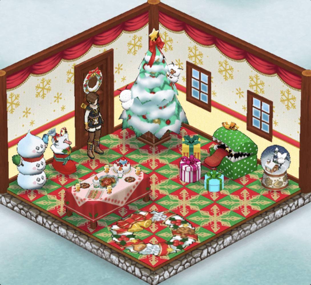 【ドラクエウォーク】聖夜を彩るみんなのクリスマス自宅コーデ特集!