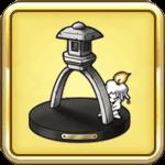 名園の灯籠