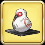 珍しい鳥の置物
