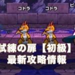 【ドラクエウォーク】試練の扉初級(3週目)攻略!ハイスコアSの取り方